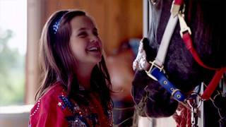 "Bailee Madison stars in the Oklahoma-made film ""Cowgirls N' Angels."" Samuel Goldwyn Films photo."