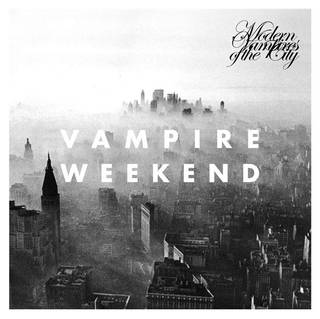 "Pictured is the artwork for ""Modern Vampires of the City,"" the third album released by the band Vampire Weekend."