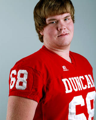Dylan Dismuke, a former standout at Duncan, confirmed to The Oklahoman on Monday that his football career is likely over due to a knee injury. Photo from The Oklahoman archive