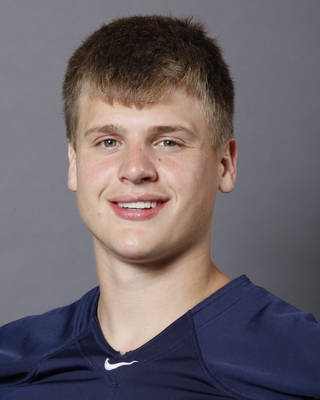 Jackson Stallings, Southmoore, poses for a mug shot at The Oklahoman's photo day for spring high school football in Oklahoma City, Wednesday, May 16, 2012. Photo by Nate Billings, The Oklahoman