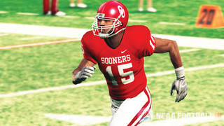 A screenshot of an OU player on EA Sports' NCAA Football 10 video game. The game rates each individual player, with 99 being the highest rating a player can have. Photo courtesy EA Sports