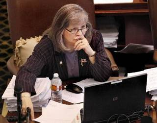 Rep. Sally Kern is seen in this May 2010 photo by Jim Beckel.