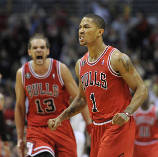 Bulls guard Derrick Rose is John Rohde's pick for NBA Player of the Year. AP PHOTO