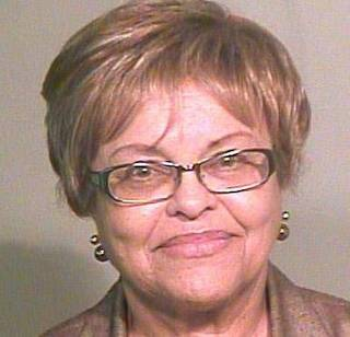 Lynnell Harkins, one of five Oklahoma Pardon and Parole Board members charged with misdemeanor violations of the state Open Meeting Act.