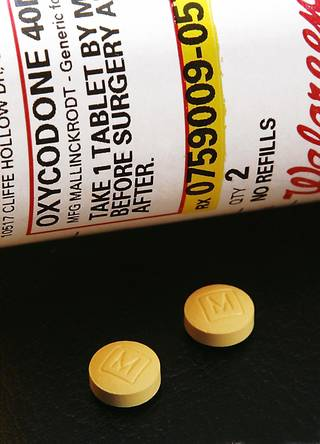State figures show that 14 percent of drug deaths in 2007 were from hydrocodone or oxycodone. photo BY JIM BECKEL, OKLAHOMAN archive