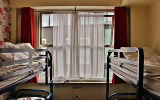 Samantha Woodring stayed in this room at Abigails Hostel in Dublin, Ireland. Photo Provided -