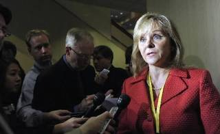 Oklahoma Gov. Mary Fallin is seen in this AP file photo.