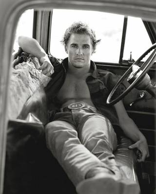 "Herb Ritts' ""Matthew McConaughey, Palmdale,"" from 1996, is featured in the new exhibit ""Herb Ritts: Beauty and Celebrity"" at the Oklahoma City Museum of Art. Photo provided by the Herb Ritts Foundation."