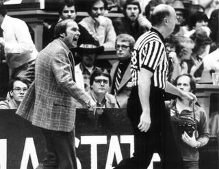 UNIVERSITY OF OKLAHOMA / COLLEGE BASKETBALL: OU basketball coach Billy Tubbs (Photo originally taken 01/31/81, ran 02/02/81)