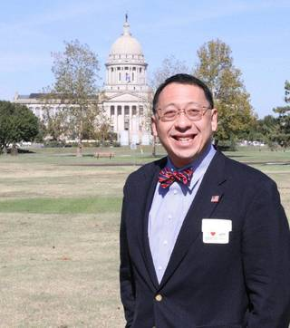 Frank Y.H. Wang has been installed as the president of the Oklahoma School of Science and Mathematics. Photo provided