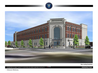 Final drawings for Edmond's new public safety center. Construction could start in 30 days on the almost $27.5 million complex. ARCHITECT DRAWING PROVIDED. FRANKFURT SHORT BRUZA. PROVIDED
