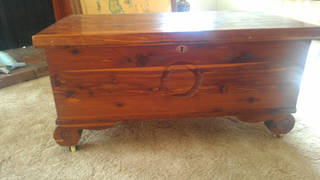 Cedar chest photo by Marni Jameson.