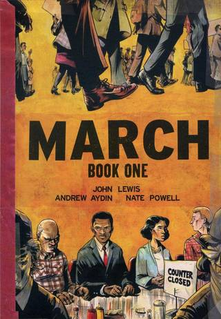 """""""March: Book One."""" Top Shelf Productions."""