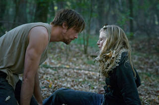 "Alexander Skarsgard and Brit Marling star in ""The East."" AP Photo Myles Aronowitz"