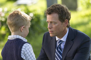 """Connor Corum, left, and Greg Kinnear in a scene from """"Heaven Is for Real.""""AP Photo/Sony Pictures, Allen Fraser Allen Fraser"""