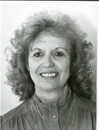 Shirley Conner in a 1989 photo. Conner was too ill to join a reunion of Oklahoma City's first female police officers.