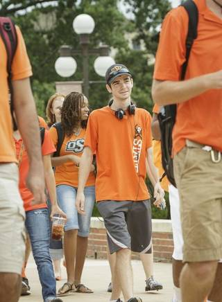 Students who apply in July have many advantages over OSU students who wait until later. Image from University Marketing/Oklahoma State University