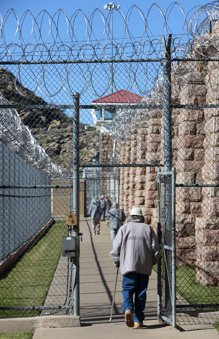 A growing number of older inmates means more inmates with dementia or other age-related health issues. The Oklahoman archives David McDaniel