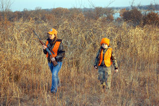 New Oklahoma hunting regulatons that will become law on Friday will change some of the requirements of young hunters. Photo provided by Oklahoma Department of Wildlife Education