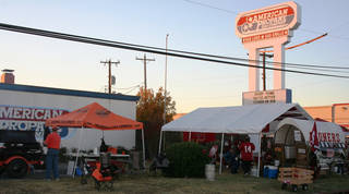 The first Bedlam Tailgating Showdown, won by a team representing Oklahoma State University, was held at American Propane in Oklahoma City. Photo by David Cathey, The Oklahoman