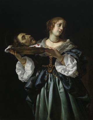 """Salome,"" circa 1681-85, by Carlo Dolci, is featured in the exhibit ""Of Heaven and Earth: 500 Years of Italian Painting from Glasgow Museums"" at the Oklahoma City Museum of Art. PHOTO PROVIDED PROVIDED"