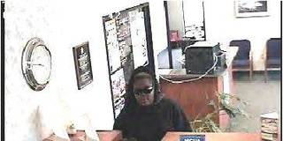 The Bison Federal Credit Union in Shawnee was robbed Monday by this black woman. Photo provided