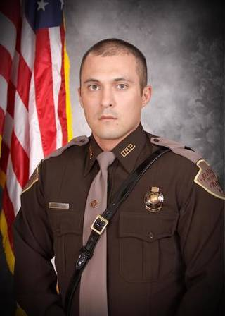 Chris Bunch, a one-year veteran of the Oklahoma Highway Patrol