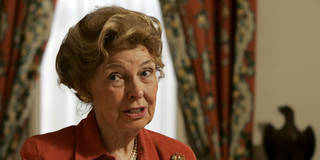 Phyllis Schlafly speaks during an interview in her office Wednesday, March 7, 2007 in Clayton, Mo. At 82 the matriarch of the conservative movement is showing no signs of slowing down and is still speaking out against abortion and illegal immigrants, still fighting the Equal Rights Amendment and still a thorn in the side of not only Democrats but of Republicans she sees as leaning too far to the left. (AP Photo/Jeff Roberson)