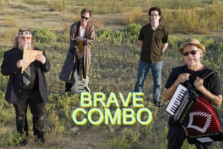Brave Combo will perform in concert Sunday at Lions Park in Norman as part of the Summer Breeze Concert Series. PHOTO PROVIDED