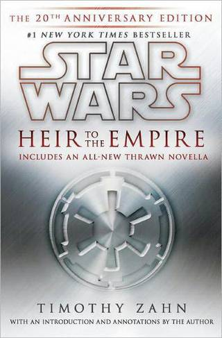 "The cover to the 20th anniversary edition of ""Heir to the Empire."""