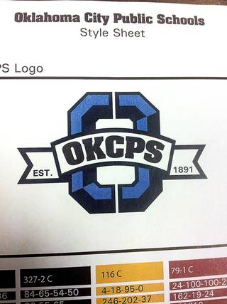 Proposed logo of Oklahoma City Public Schools