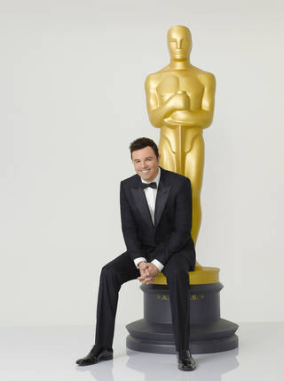 "Seth MacFarlane will host ""The 85th Annual Academy Awards"" at 7:30 p.m. Sunday on ABC. ABC photo"