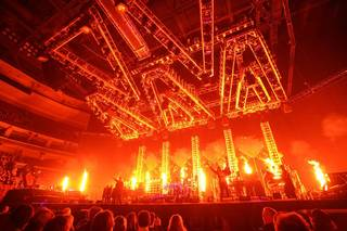 Holiday favorite Trans-Siberian Orchestra performs a 2011 show. Photo by Bob Carey.