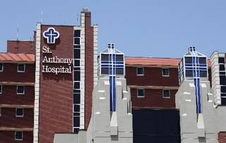 2011 file photo of St. Anthony Hospital in Oklahoma City by Steve Gooch
