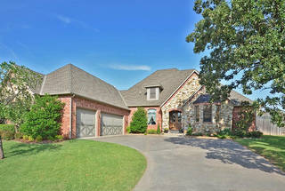 The Listing of the Week is at 3636 Hunters Creek Road in Edmond. - PROVIDED