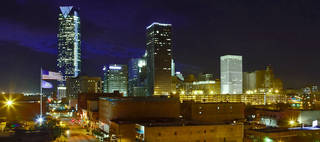 The downtown Oklahoma City skyline has been transformed the past decade with new corporate nameplates afixed to some of its tallest towers. But a national report suggests that downtown is losing employment to the city's outer-ring. CHRIS LANDSBERGER