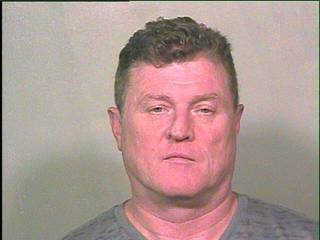 The latest to be charged is legislative candidate John Paul Gibbons, who is shown above after his 2012 arrest.