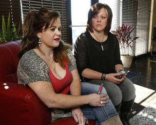 Owners Melissa Bennett and Christi Watson (no pictured is third owner Debbie Patton) talk about their Oklahoma CIty-based e-cigarette chain Vapor Hut on Friday, Jan. 17, 2014, in Norman, Okla. Photo by Steve Sisney, The Oklahoman