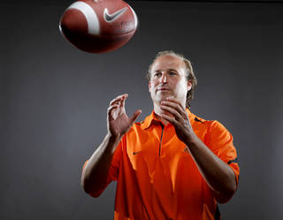 The opportunity at West Virginia was too good to pass up for Dana Holgorsen. Photo by Bryan Terry, The Oklahoman