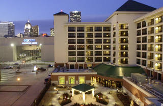 Residence Inn, 2 W Reno Ave., Oklahoma City, 225 rooms, Cost $18 million, Built by Flintco, Opened in 2004 MICHAEL DOWNES - STF