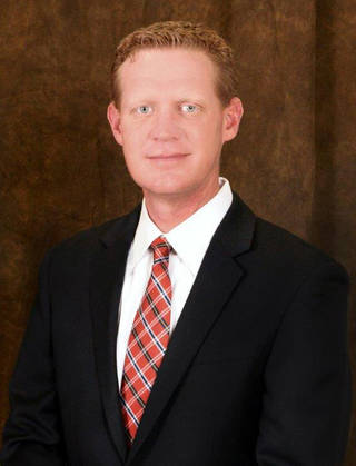Jason Johnson, vice president for student affairs at Northern Oklahoma College
