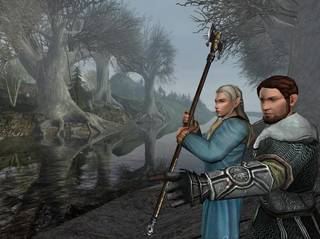 "A screen shot from ""The Lord of the Rings Online."" Chance Thomas, an Oklahoma City native, composed original music for the game. Photo provided"
