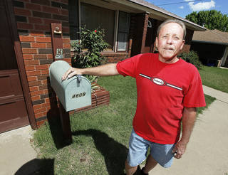 Stephen Armstrong recently bought a home in Oklahoma City. The veteran was homeless and received help through a federal program. Photo by Nate Billings, The Oklahoman