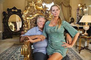 "David and Jackie Siegel are shown in the documentary ""The Queen of Versailles."" Photo provided."