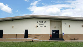 Panola High School is part of the district facing annexation. Photo provided PROVIDED