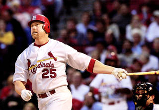 Was former major league slugger Mark McGwire's confession about steroids use during his career heart-felt, or was it self-serving because of his job as hitting coach with St. Louis? AP PHOTO