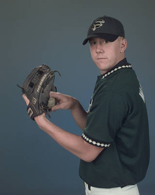 Brandon Weeden, Edmond Santa Fe high school baseball