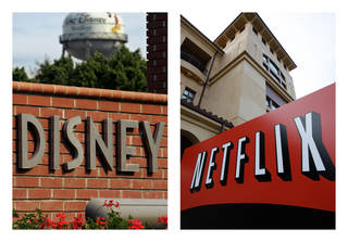 Netflix's video subscription service has trumped pay-TV channels and grabbed the rights on Tuesday. AP Photo