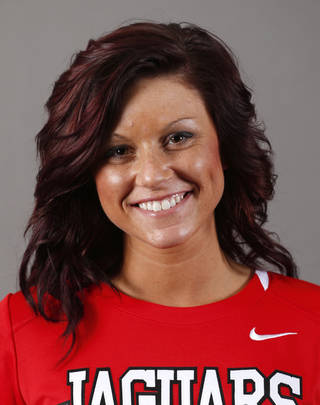 Patricia Padgett of the Westmoore softball team poses for a mug during the spring high school sports photo day in Oklahoma City, Wed. Feb. 27, 2013. Photo by Bryan Terry, The Oklahoman