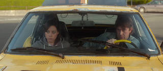 "Aubrey Plaza and Mark Duplass star in ""Safety Not Guaranteed."" FilmDistrict photo"